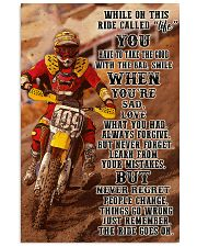 Motocross In This Ride PDN-NTH Vertical Poster tile