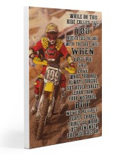 Motocross In This Ride PDN-NTH Gallery Wrapped Canvas Prints tile