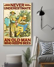 Beekeeper never underestimate an old man 11x17 Poster lifestyle-poster-1