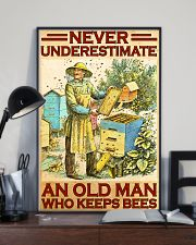 Beekeeper never underestimate an old man 11x17 Poster lifestyle-poster-2