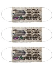 pitbull One Smile Msk Cloth Face Mask - 3 Pack front