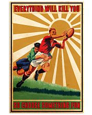 Rugby Choose ST Fun PDN-DQH  11x17 Poster front