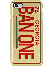 Flm Bandit Plate Ban One PDN-nna Phone Case i-phone-8-case
