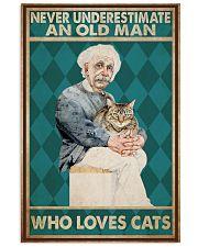 Cat Ensti Never Under Estimate PDN-dqh 11x17 Poster front