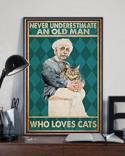 Cat Ensti Never Under Estimate PDN-dqh 11x17 Poster lifestyle-poster-2