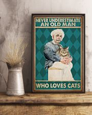 Cat Ensti Never Under Estimate PDN-dqh 11x17 Poster lifestyle-poster-3
