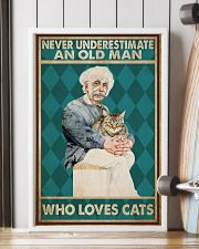 Cat Ensti Never Under Estimate PDN-dqh 11x17 Poster lifestyle-poster-4