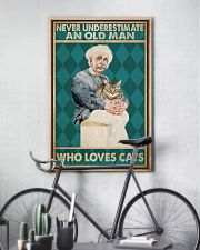 Cat Ensti Never Under Estimate PDN-dqh 11x17 Poster lifestyle-poster-7