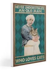 Cat Ensti Never Under Estimate PDN-dqh Gallery Wrapped Canvas Prints tile