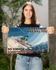 Skiing Choose ST Fun2 PDN-dqh 17x11 Poster poster-landscape-17x11-lifestyle-19