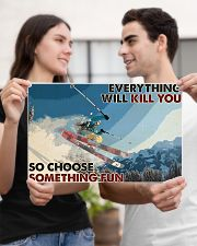 Skiing Choose ST Fun2 PDN-dqh 17x11 Poster poster-landscape-17x11-lifestyle-20