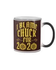 SN I Blame Chuck Color Changing Mug tile