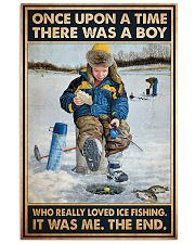 Ice Fishing OUAT Boy PDN-DQH  11x17 Poster front