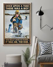 Ice Fishing OUAT Boy PDN-DQH  11x17 Poster lifestyle-poster-1