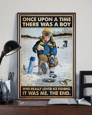 Ice Fishing OUAT Boy PDN-DQH  11x17 Poster lifestyle-poster-2
