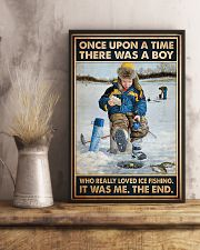 Ice Fishing OUAT Boy PDN-DQH  11x17 Poster lifestyle-poster-3