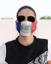 France Made In Code Cloth Face Mask - 3 Pack aos-face-mask-lifestyle-02