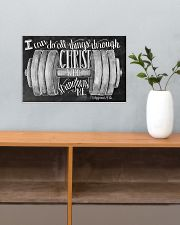 Christ strength fitness 17x11 Poster poster-landscape-17x11-lifestyle-24
