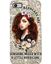 Redheads Are Sunshine pc Phone Case i-phone-8-case