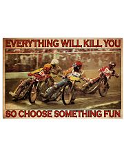 Dirt Track Motor Choose ST Fun 36x24 Poster front