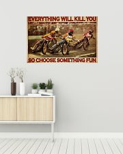 Dirt Track Motor Choose ST Fun 36x24 Poster poster-landscape-36x24-lifestyle-01
