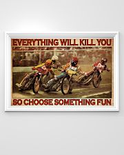 Dirt Track Motor Choose ST Fun 36x24 Poster poster-landscape-36x24-lifestyle-02