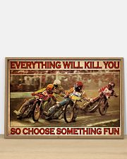 Dirt Track Motor Choose ST Fun 36x24 Poster poster-landscape-36x24-lifestyle-03