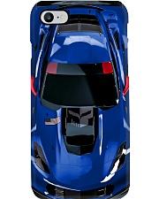 Car Chev C7 Corvet PDN Admiral Blue NNA Phone Case i-phone-8-case