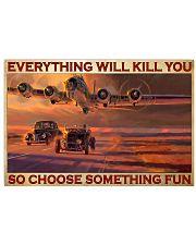 cars racing plane choose st fun pt phq-pml 17x11 Poster front