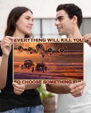 cars racing plane choose st fun pt phq-pml 17x11 Poster poster-landscape-17x11-lifestyle-20