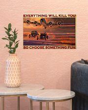 cars racing plane choose st fun pt phq-pml 17x11 Poster poster-landscape-17x11-lifestyle-21