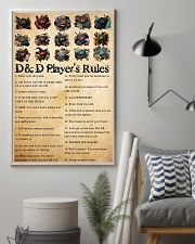 DnD players rules 24x36 Poster lifestyle-poster-1