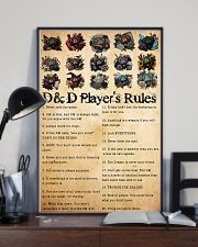 DnD players rules 24x36 Poster lifestyle-poster-2