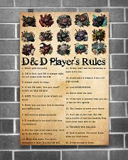 DnD players rules 24x36 Poster poster-portrait-24x36-lifestyle-18