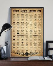 DD Mapping Key PDN-DQH  24x36 Poster lifestyle-poster-2