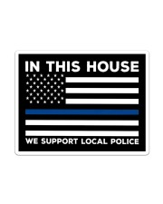 I Support My Local Police YS Sticker tile