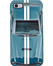 Car 1968 AMX Caravelle Blue PDN-pml Phone Case i-phone-8-case