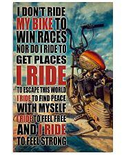 Biker I Ride PDN 24x36 Poster front