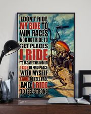 Biker I Ride PDN 24x36 Poster lifestyle-poster-2