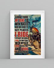 Biker I Ride PDN 24x36 Poster lifestyle-poster-5