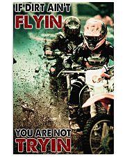Motocross If Dirt Aint Flyin PDN-pml 24x36 Poster front
