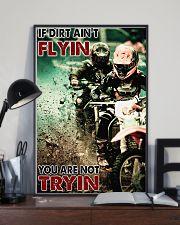 Motocross If Dirt Aint Flyin PDN-pml 24x36 Poster lifestyle-poster-2