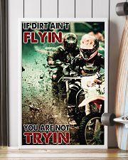 Motocross If Dirt Aint Flyin PDN-pml 24x36 Poster lifestyle-poster-4