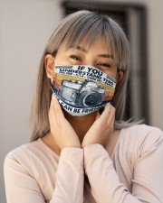 camera understand friend retro mas Cloth Face Mask - 3 Pack aos-face-mask-lifestyle-17