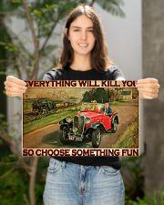Har Vs Train ST Fun PDN-dqh 17x11 Poster poster-landscape-17x11-lifestyle-19