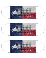Texas Made In Code Cloth Face Mask - 3 Pack front