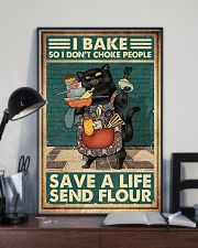 Baking So I Don't Choke People 24x36 Poster lifestyle-poster-2