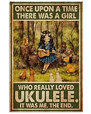Ukulele Once Upon A Time A Girl Loved 11x17 Poster front