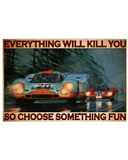 pors 917 choose something fun pt lqt-dqh 17x11 Poster front
