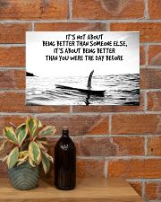 surfing better than day before pt phq-ntv 17x11 Poster poster-landscape-17x11-lifestyle-23
